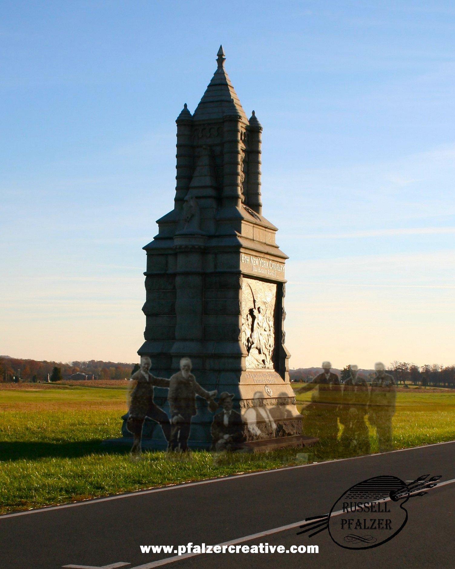 6th New York Cavalry Day One Battlefield, Gettysburg