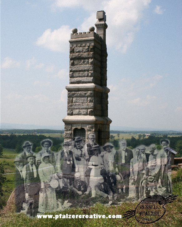 The 91st Pennsylvania Infantry, Little Round Top, Gettysburg 1913