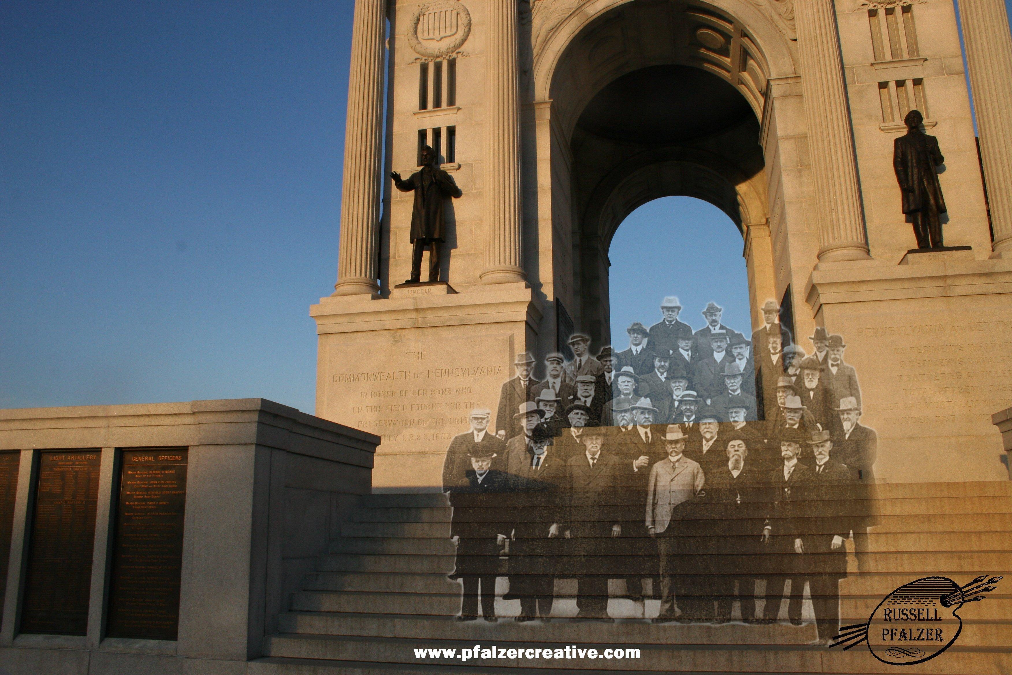 The Pennsylvania State Memorial, Hancock Ave., Cemetery Ridge, Gettysburg