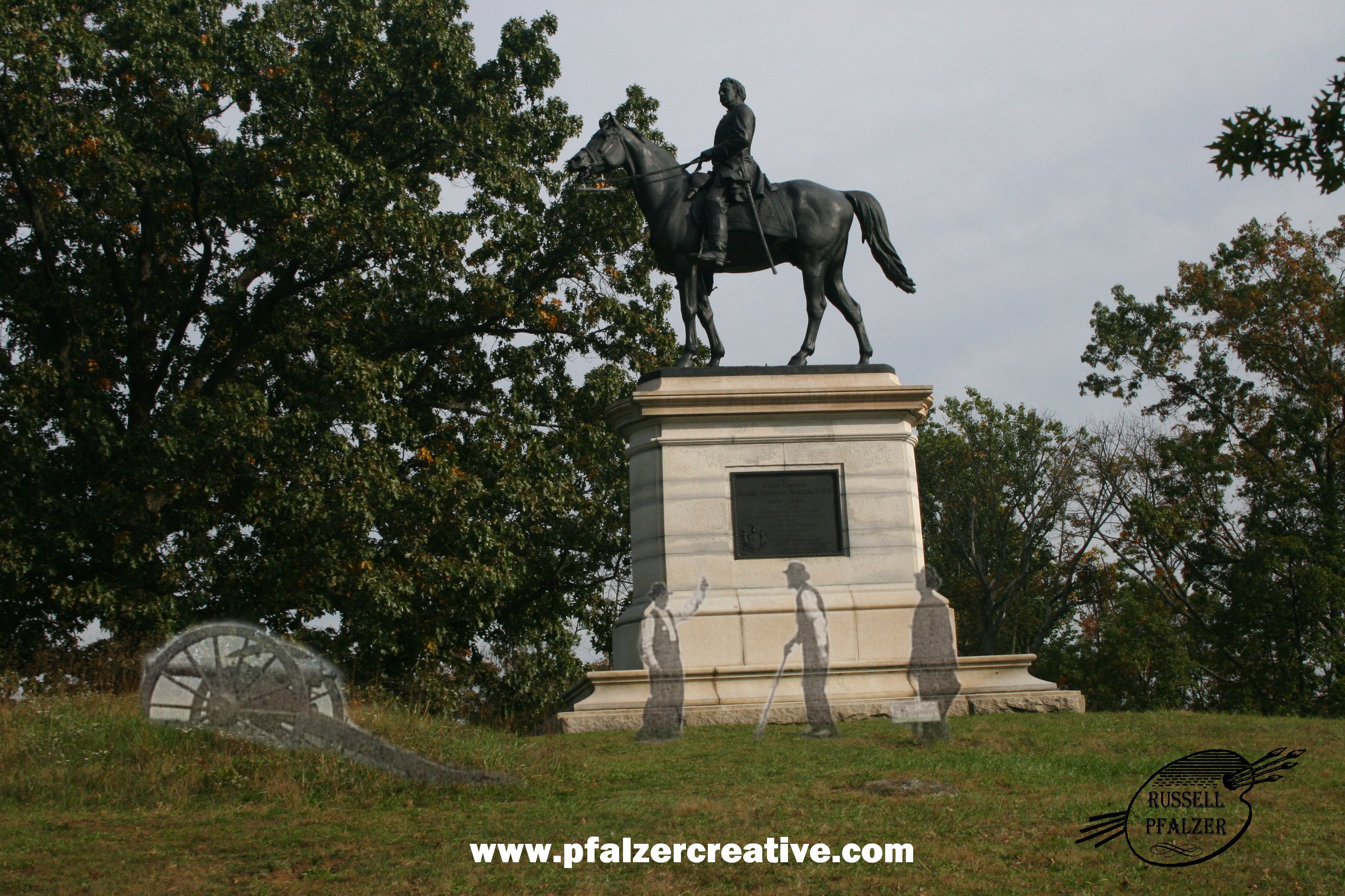 Major General Henry Slocum Equestrian Monument