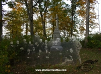118th Pennsylvania Infantry, on Stony Hill Overlooking the Rose Farm, Gettysburg