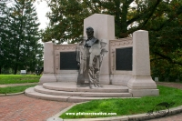 The Lincoln Speech Memorial in the National Cemetery, Gettysburg
