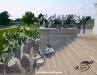 The Pennsylvania State Memorial, Gettysburg July 1913